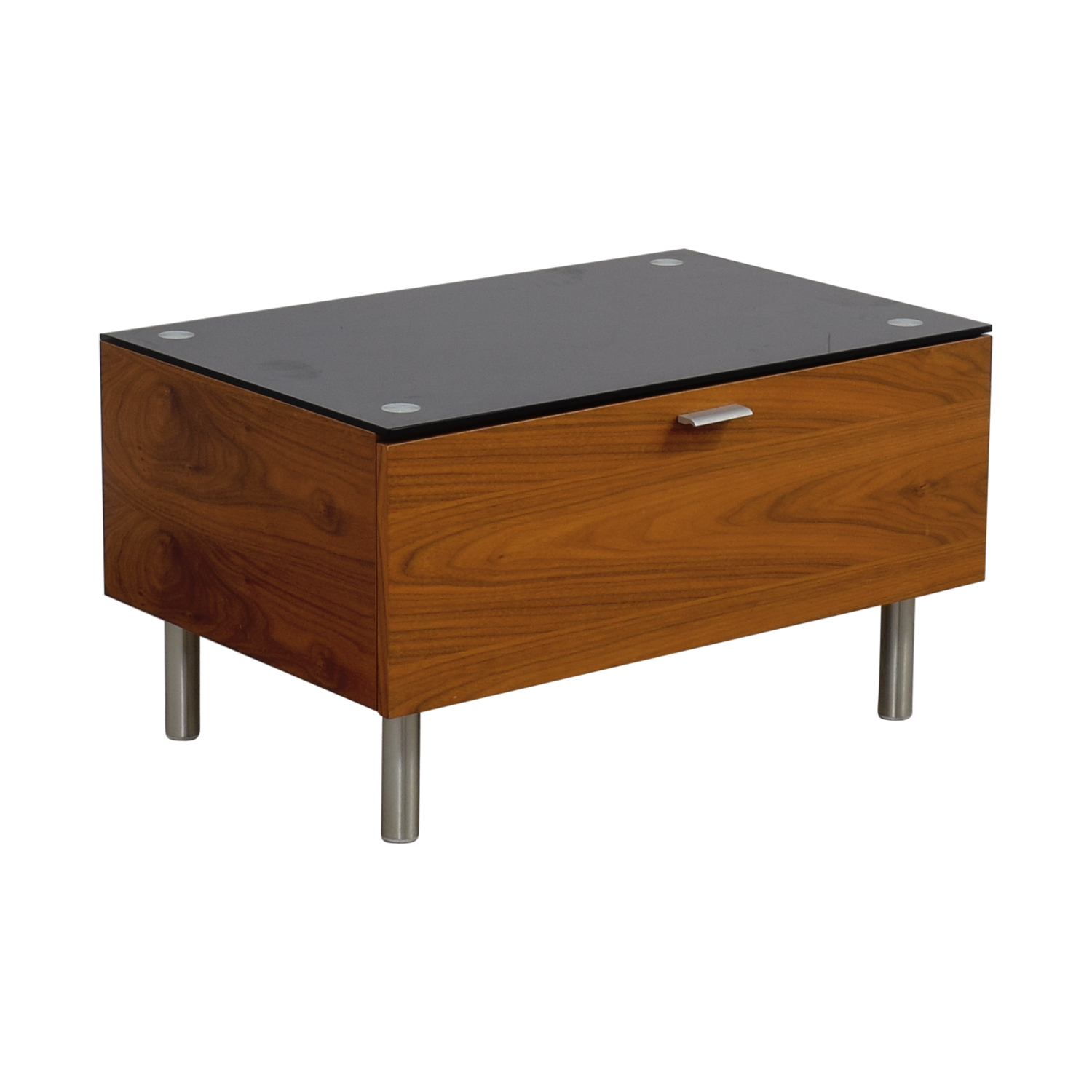 Jensen Lewis Jensen Lewis Wood Media Table for sale