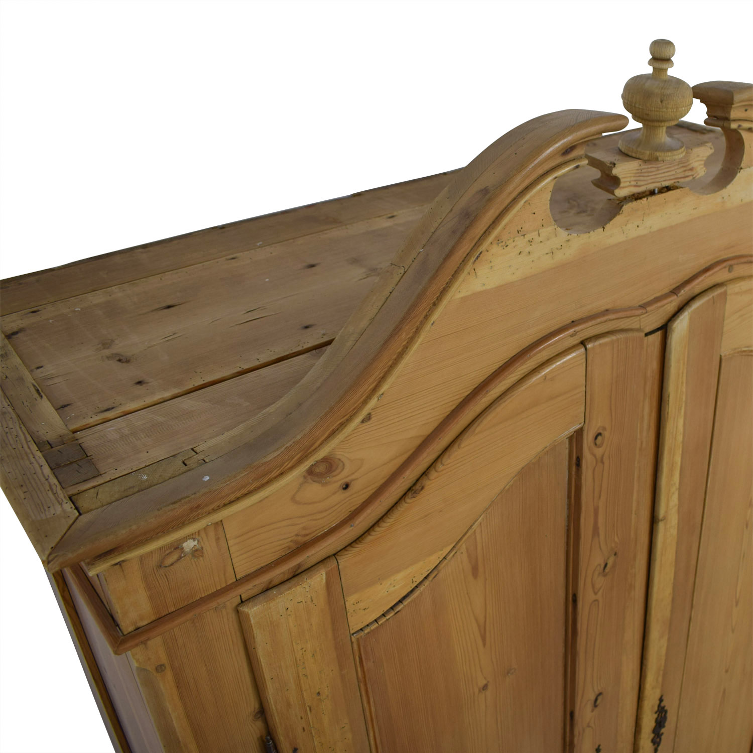 Antique Pine Armoire dimensions