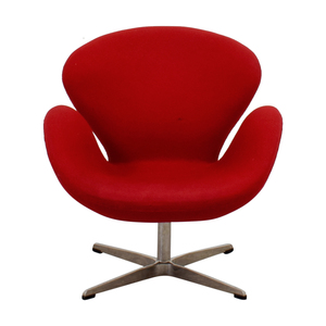 Red Swan Style Inspired Accent Chair sale