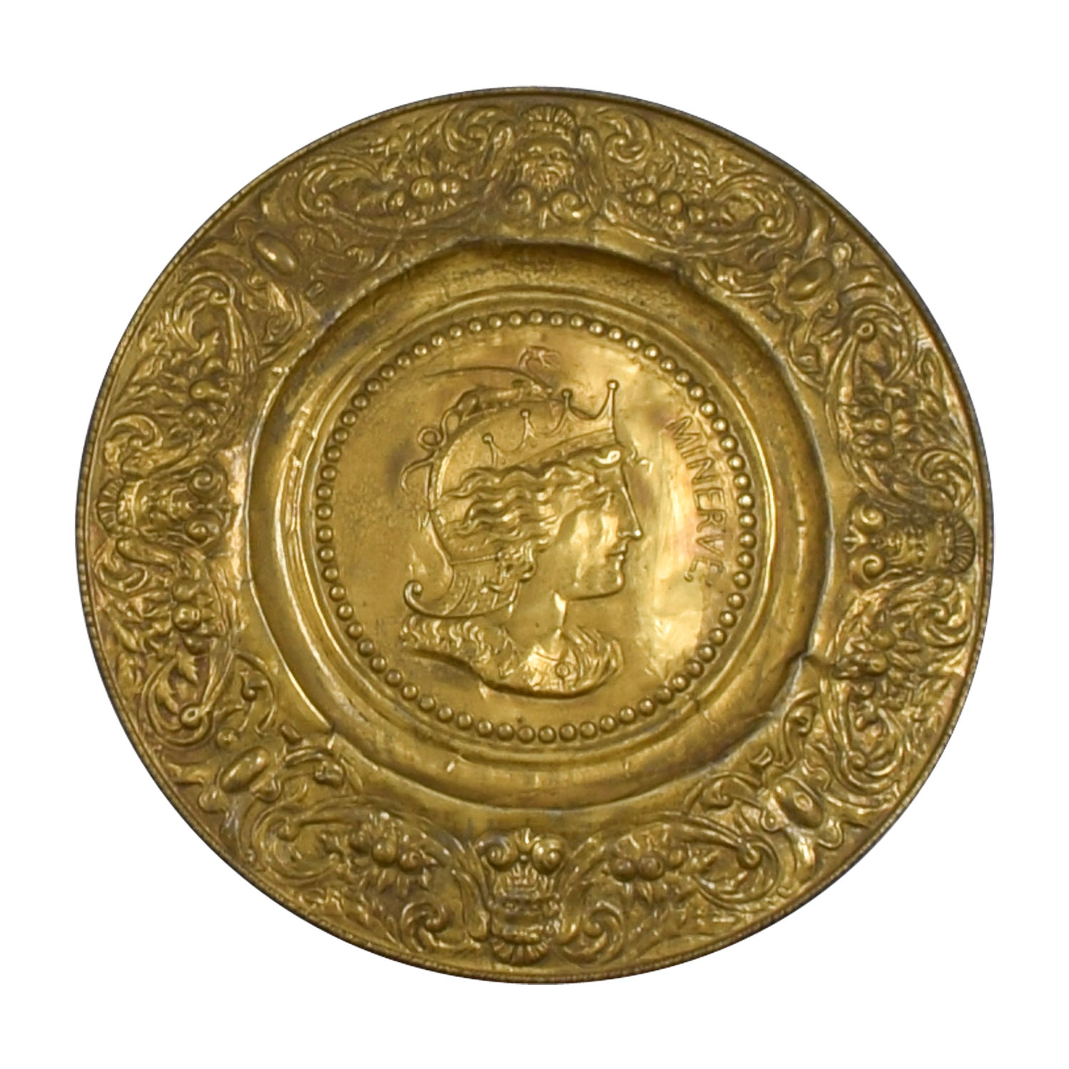 Minerva Antique Gold Shield second hand