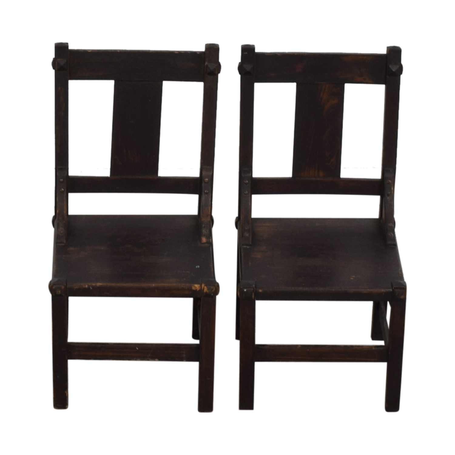 Antique Mission Child Chairs discount