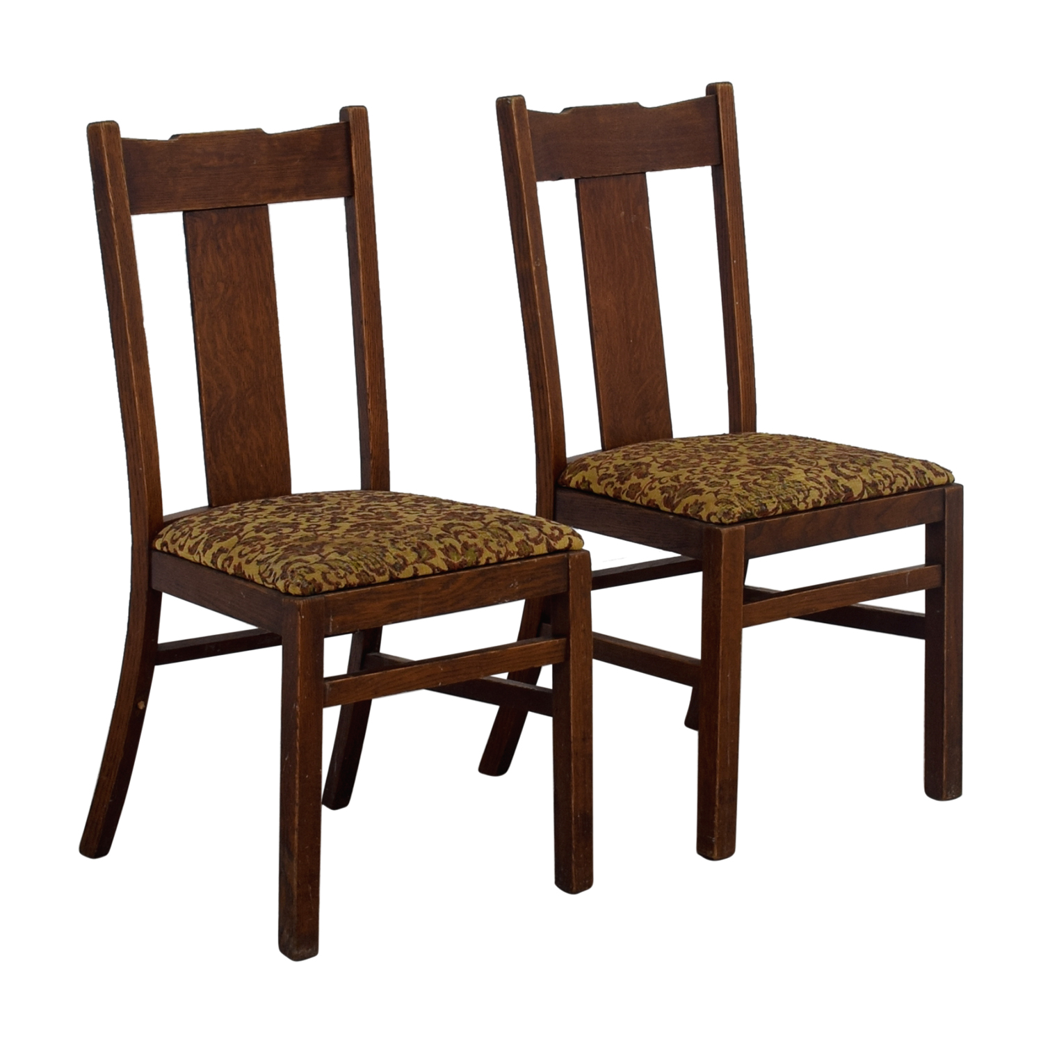 Antique Mission Upholstered Chairs nj