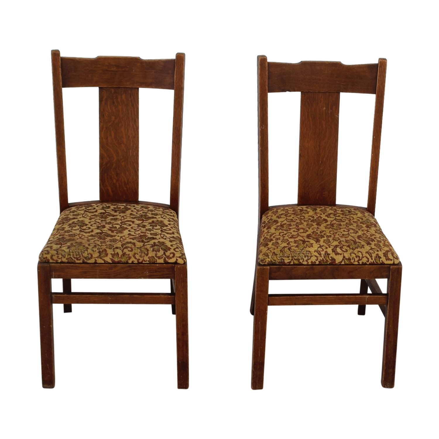 Antique Mission Upholstered Chairs / Chairs