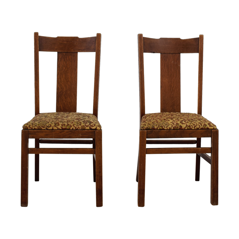 shop Antique Mission Upholstered Chairs
