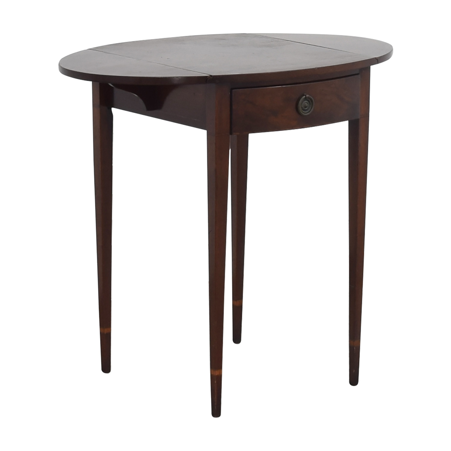 59 Off Beacon Hill Collection Beacon Hill Collection Antique Expandable Single Drawer Side Table Tables