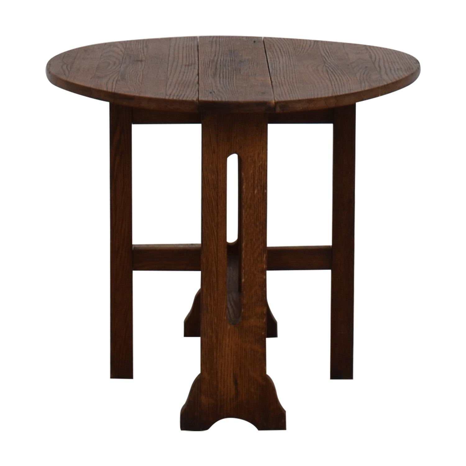 Antique Expandable Mission Coffee Table / Accent Tables