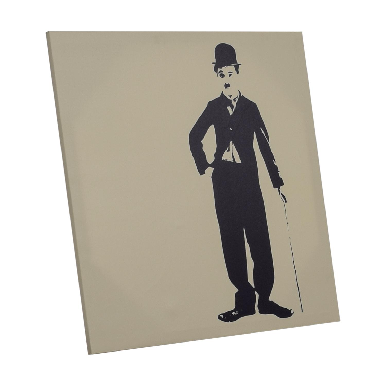 Charlie Chaplin Wall Art