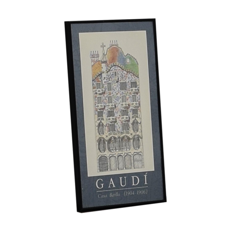 Gaudi Wall Art on sale