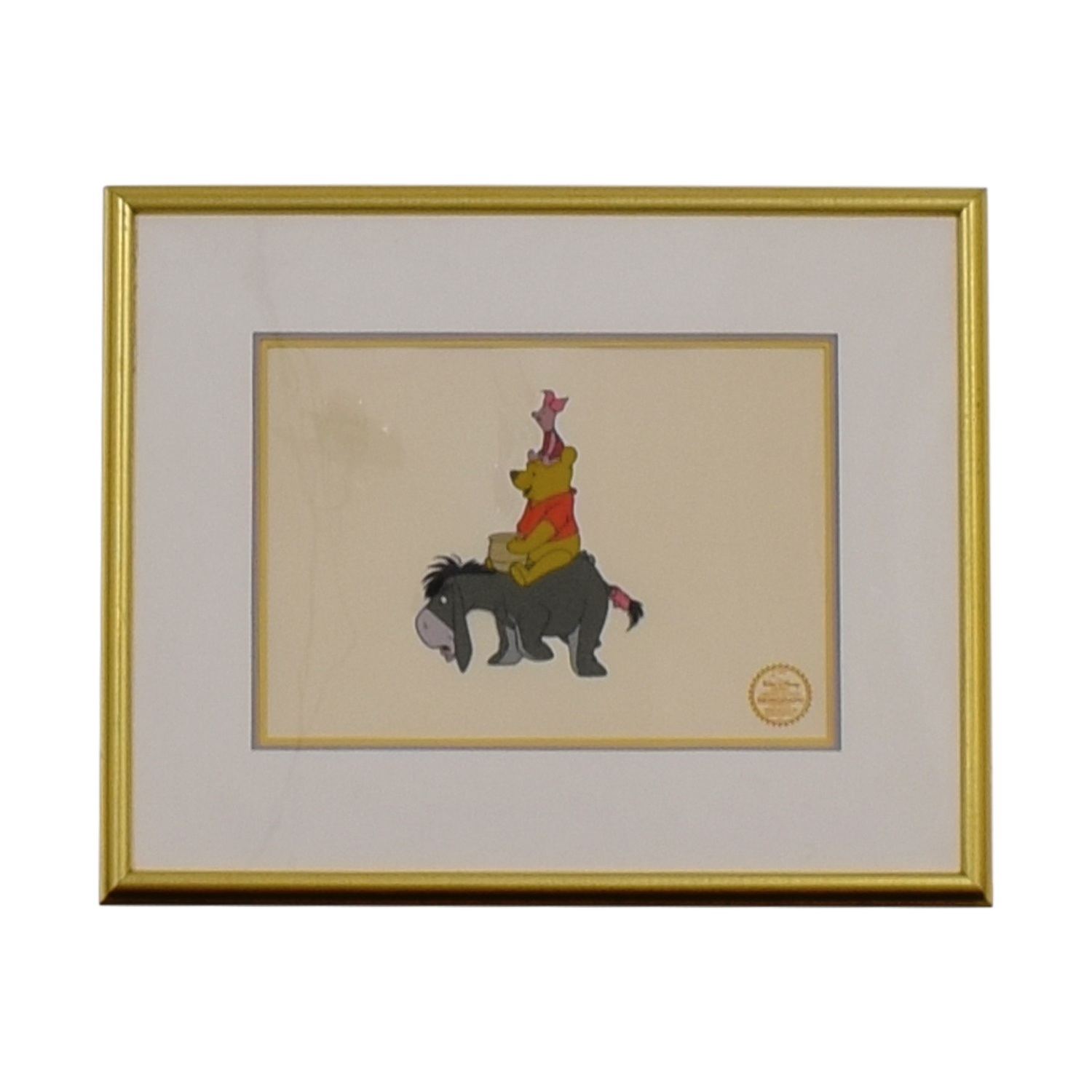 buy Disney Disney Winnie the Pooh Limited Edition Serigraph Framed online