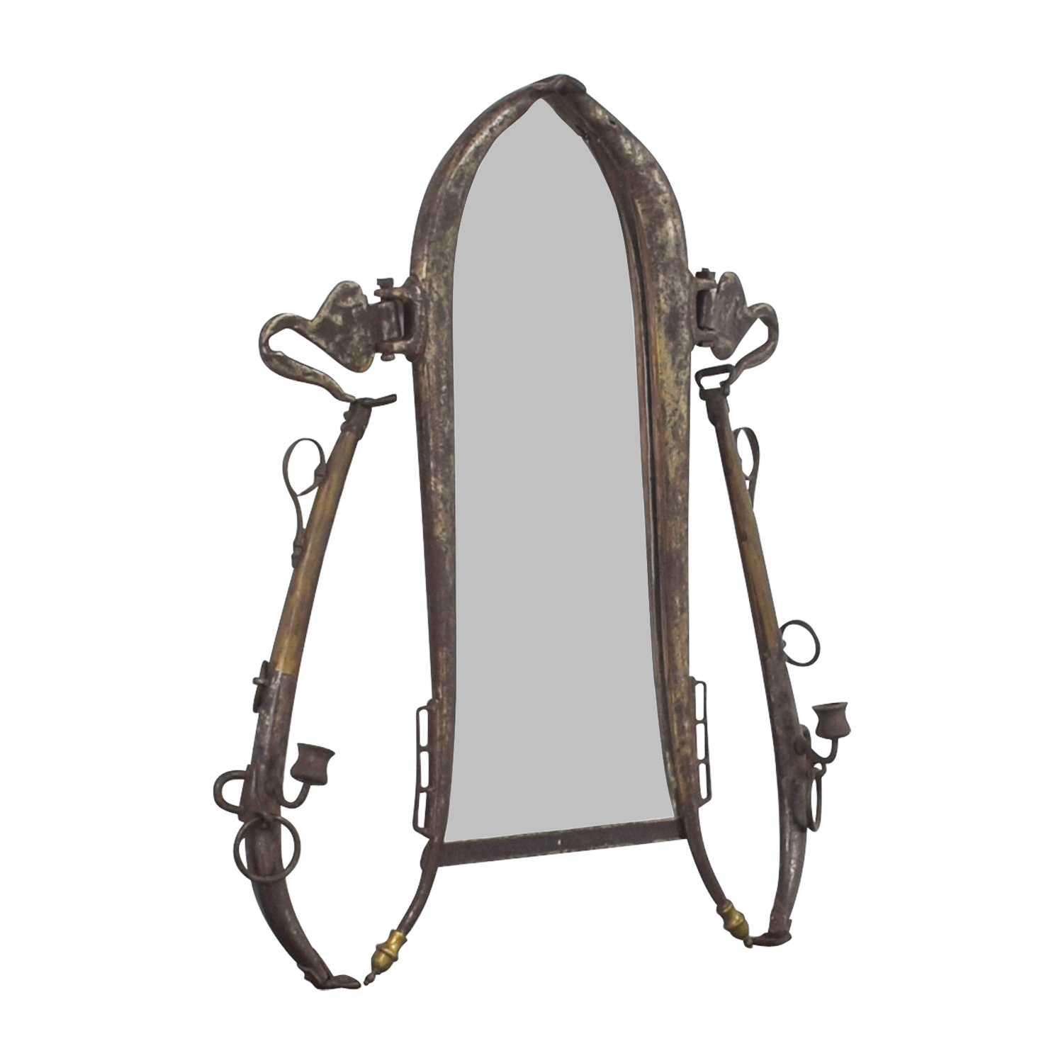 shop Antique Gold Mirror