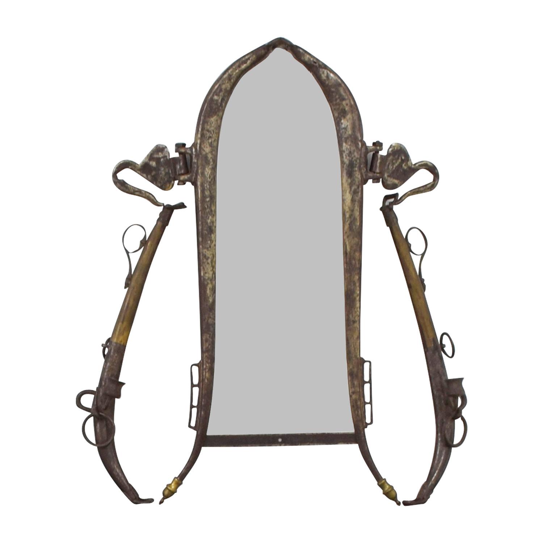 Antique Gold Mirror Decor