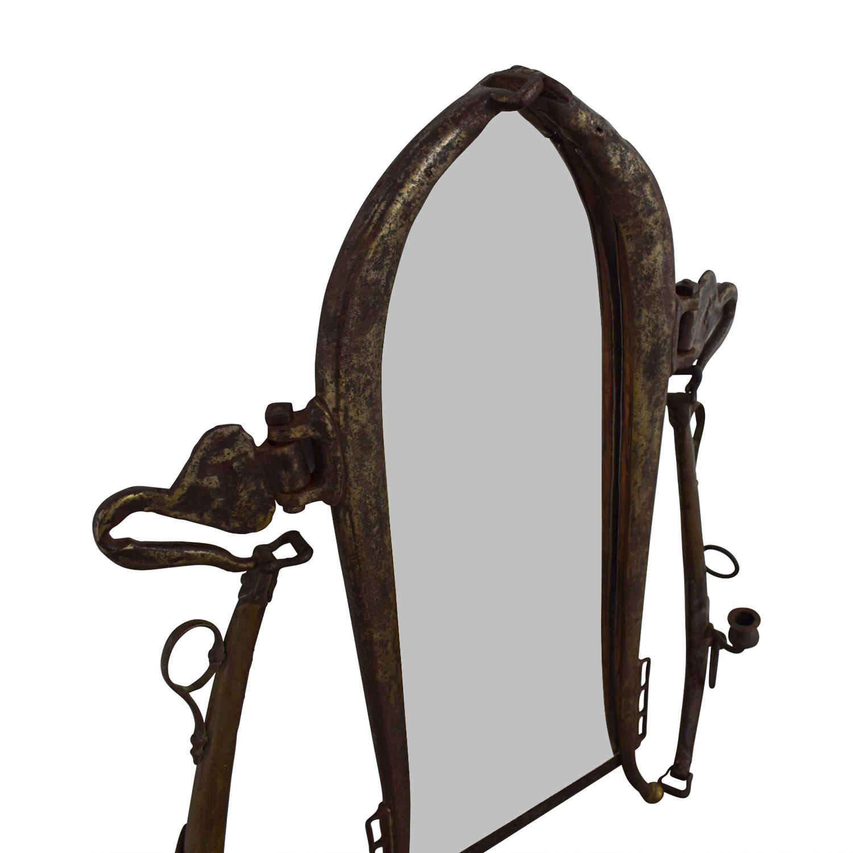 buy Antique Gold Mirror  Decor