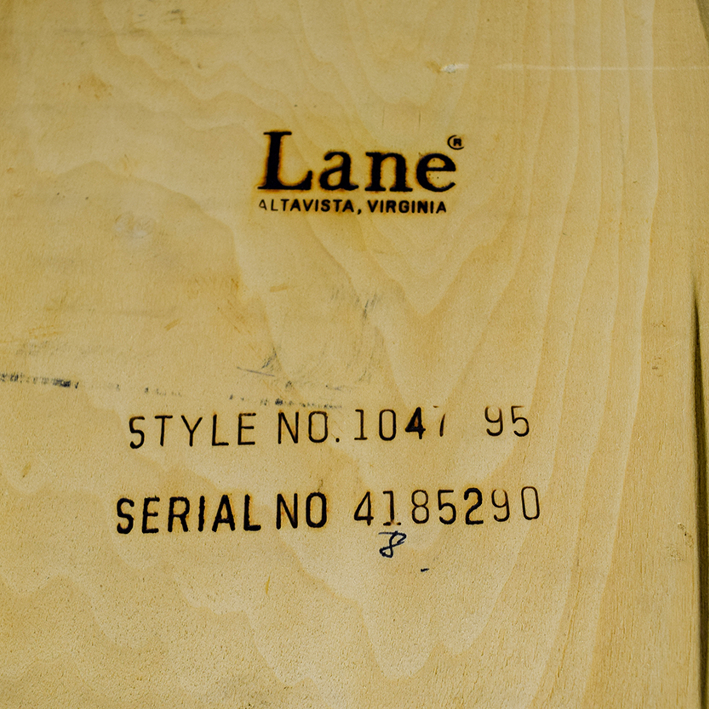Lane Furniture Solid Oak Z-Shaped End Table / Tables