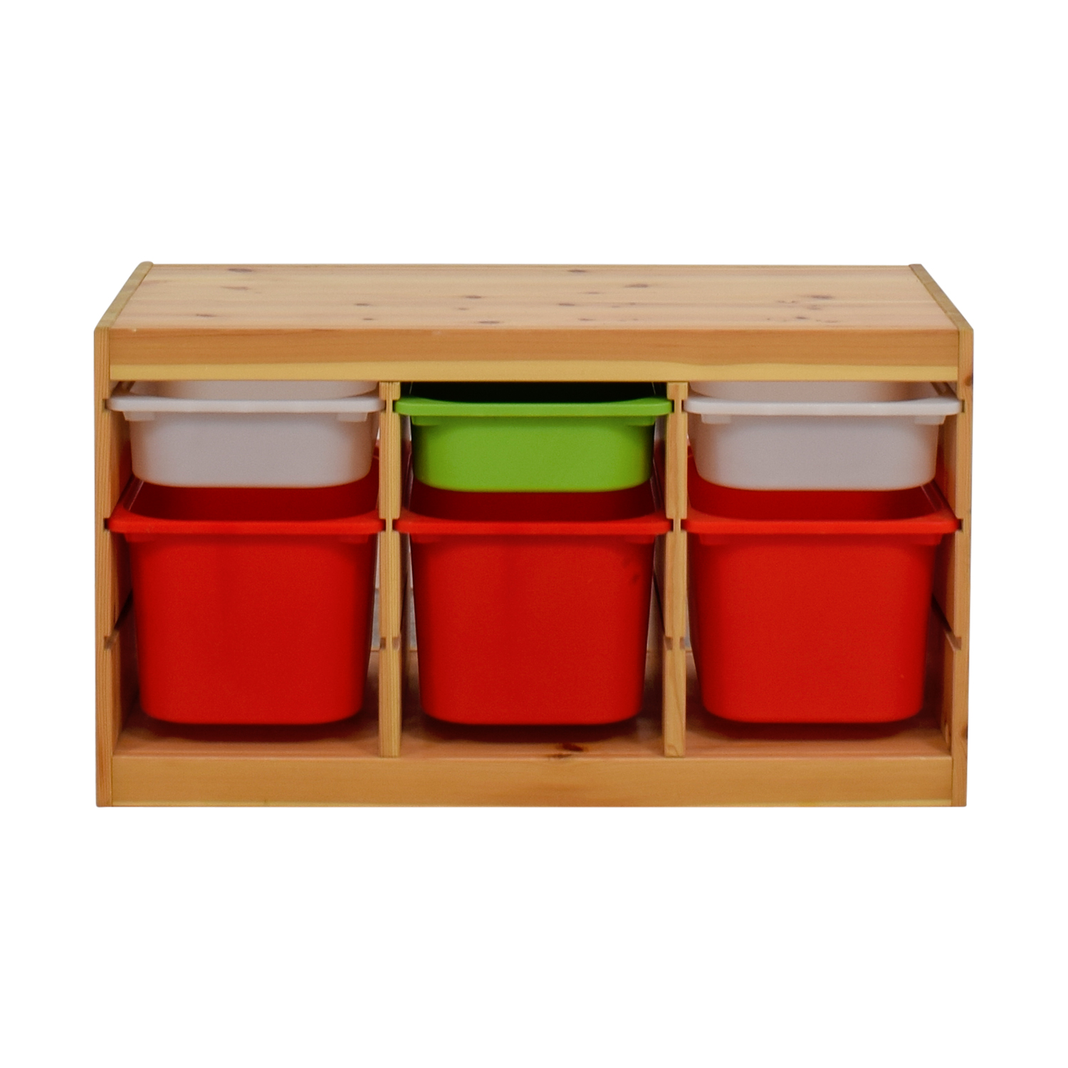 buy IKEA Child Wooden Storage with Bins IKEA Bookcases & Shelving