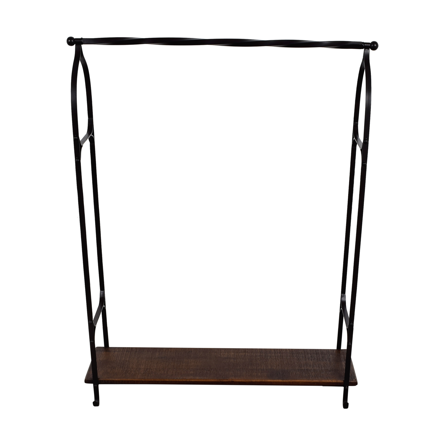 shop Pottery Barn New York Clothing Rack Pottery Barn