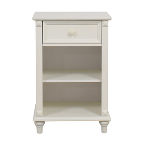West Elm West Elm White Single Drawer Nightstand coupon
