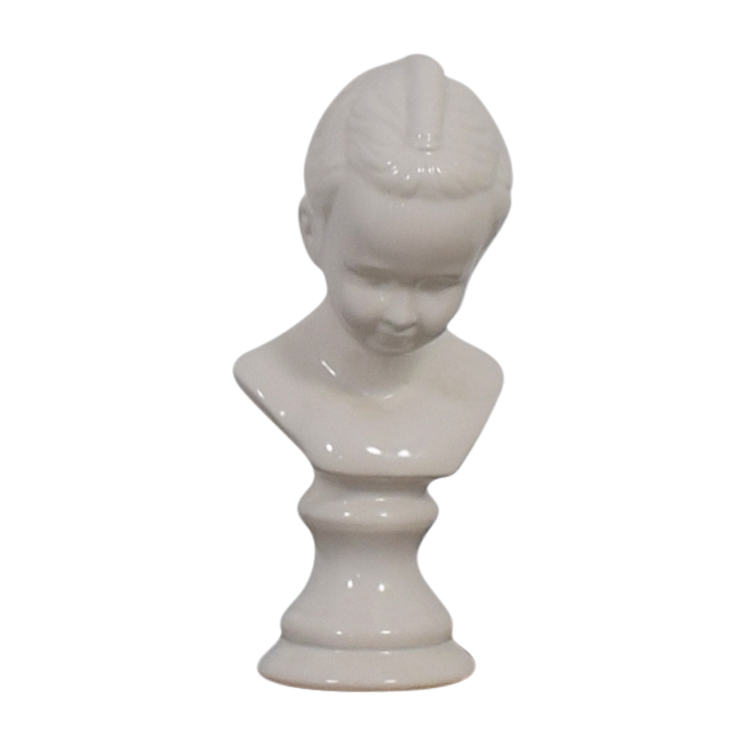 Child Porcelain Bust dimensions