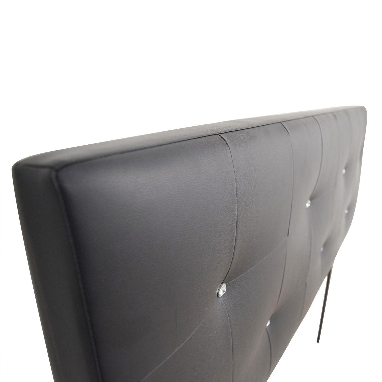 Amazon Amazon Black Tufted Queen Headboard second hand