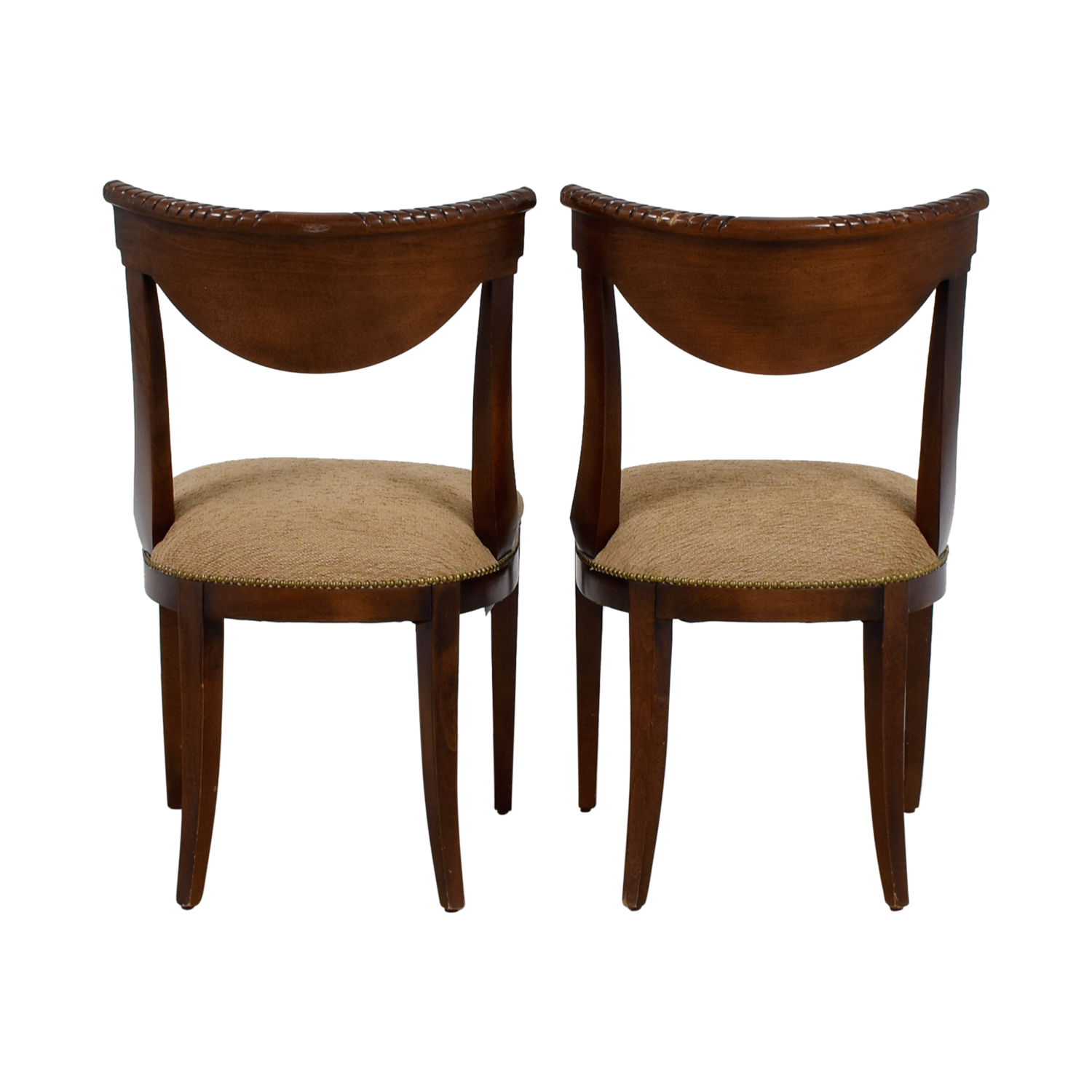 buy Mid-Century Tan Accent Chairs  Dining Chairs