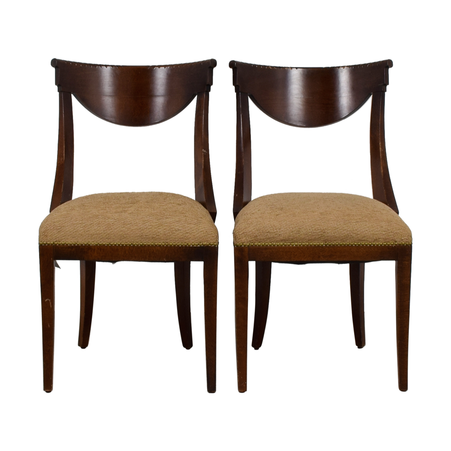 shop Mid-Century Tan Accent Chairs