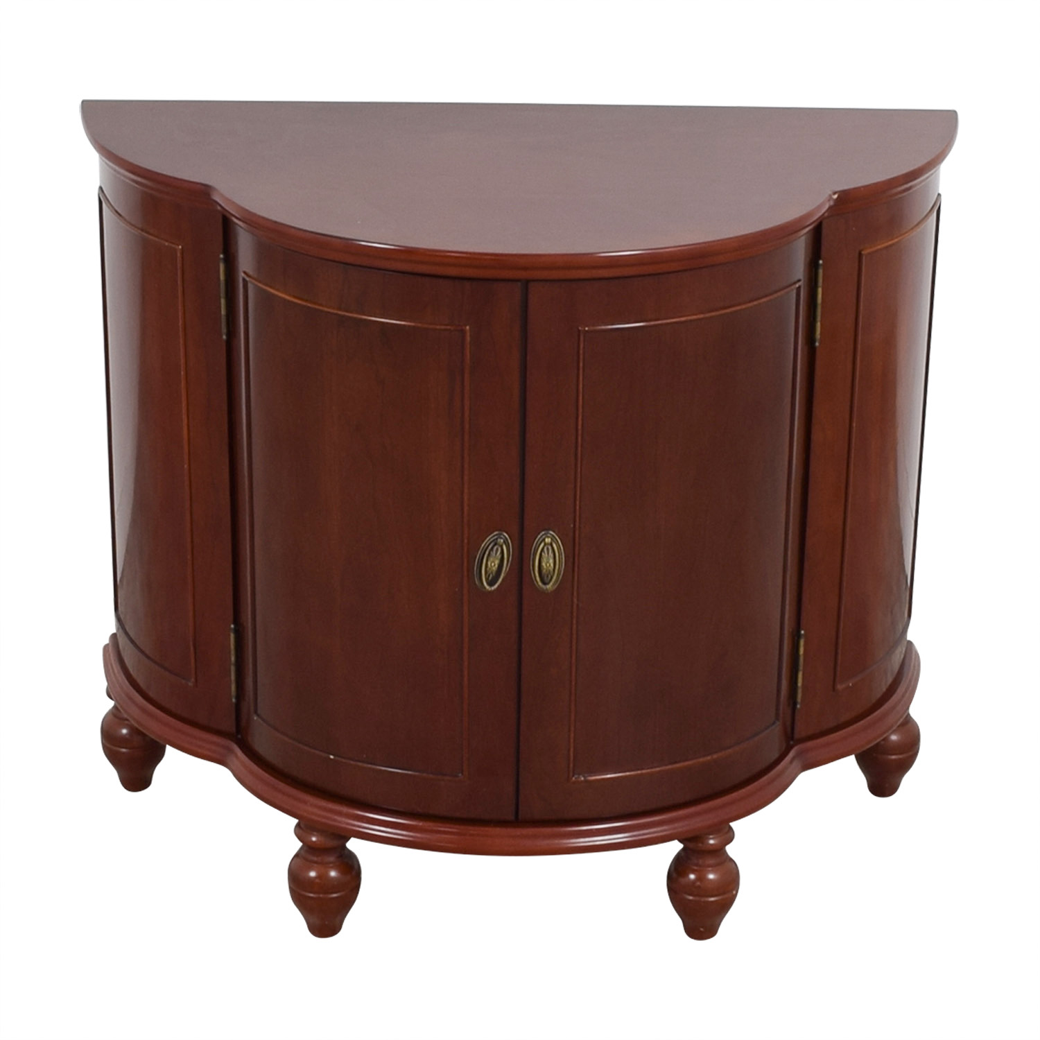 shop Bombay Company Wood Entertainment Bar Bombay Company Cabinets & Sideboards