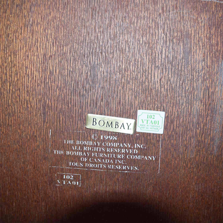 buy Bombay Company Wood Entertainment Bar Bombay Company Cabinets & Sideboards