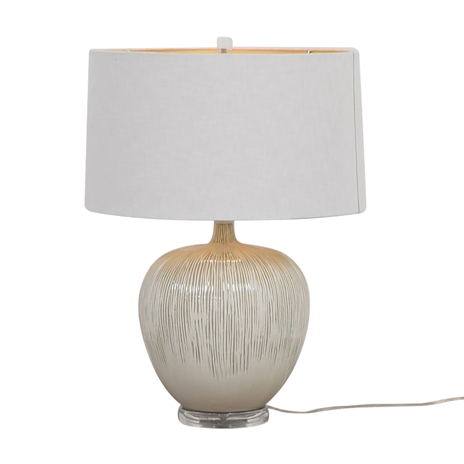 France & Sons White Table Lamp / Lamps