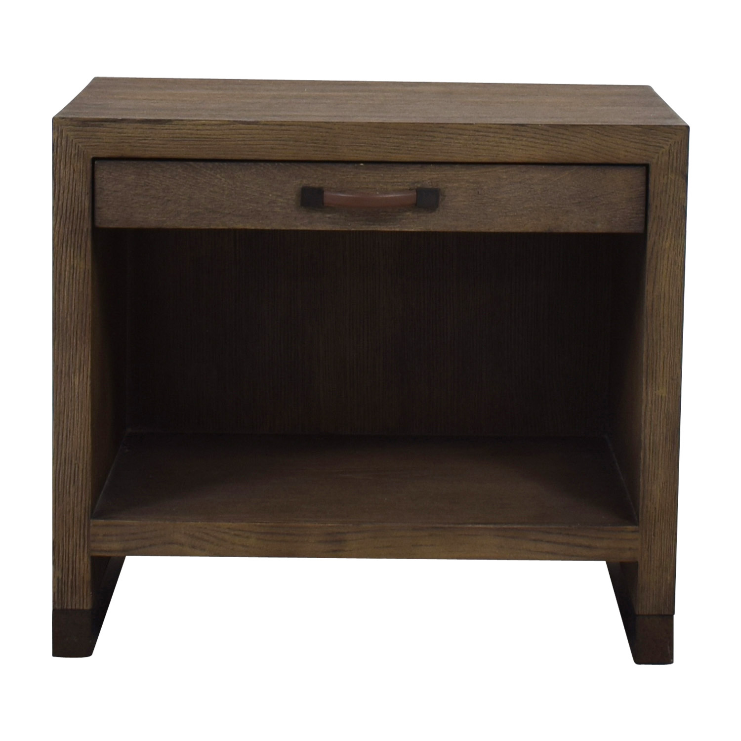 Lillian August Lillian August Conner Grey Wood Nightstand nyc