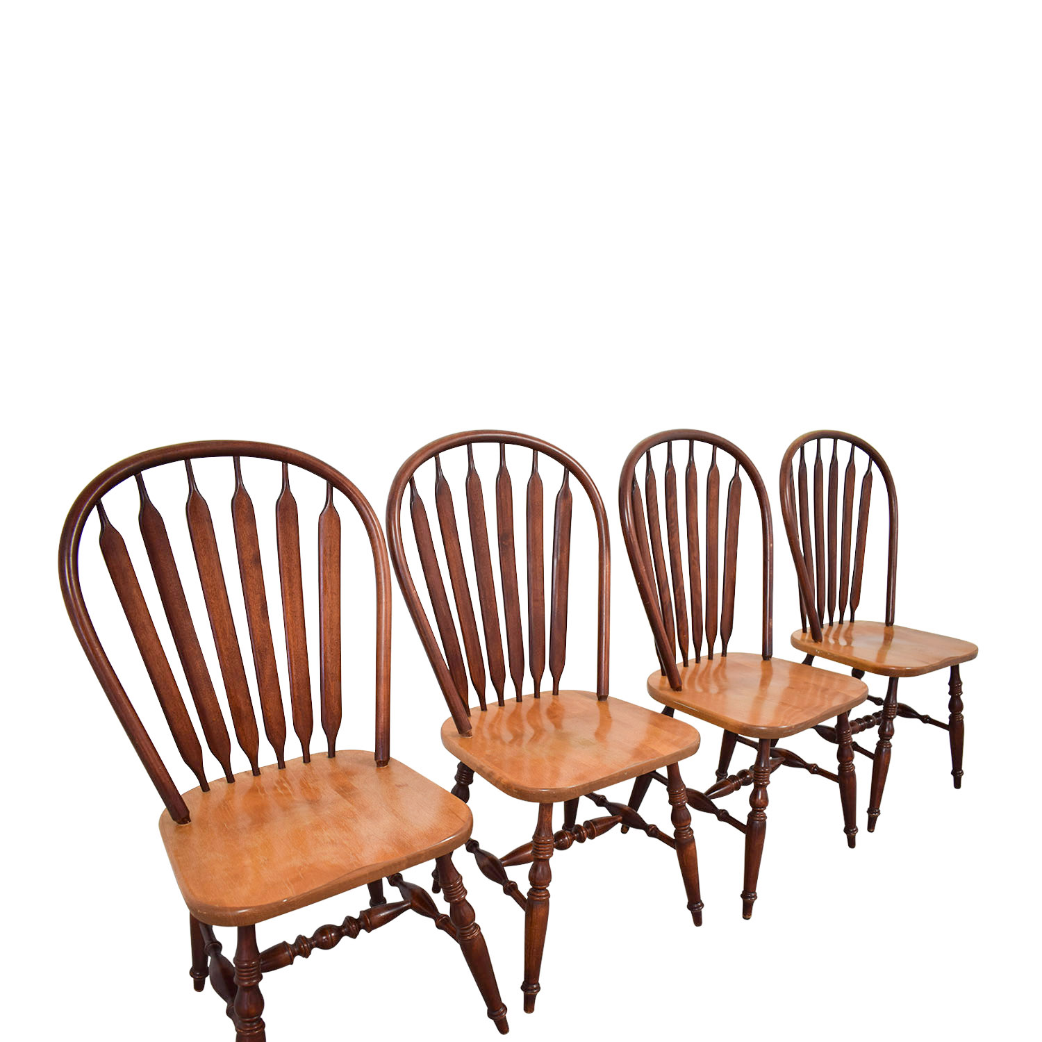 Canadel Canadel Windsor Wood Dining Chairs Chairs