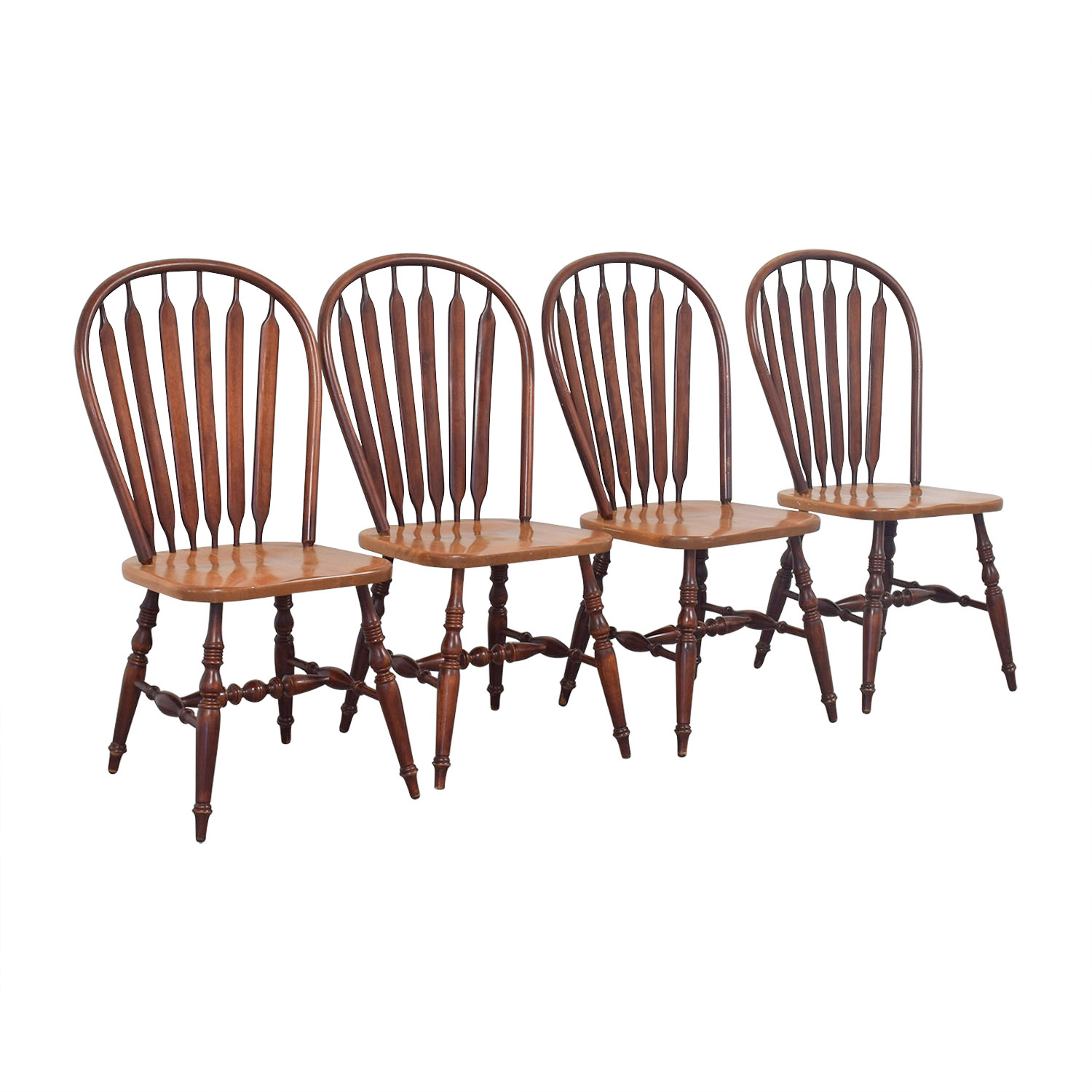 Canadel Windsor Wood Dining Chairs / Dining Chairs
