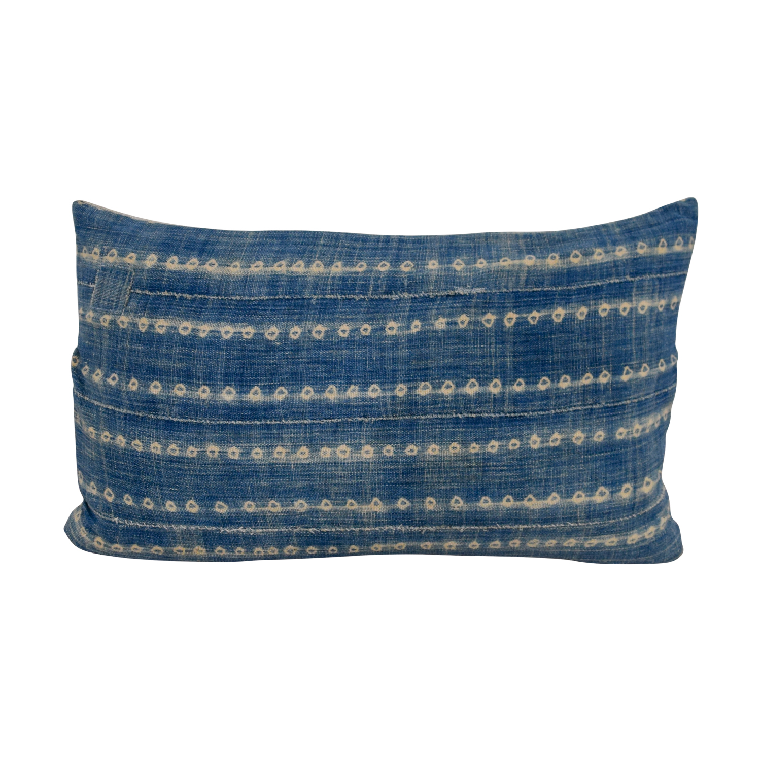 Etsy Etsy African Blue Mudcloth Toss Pillow nj