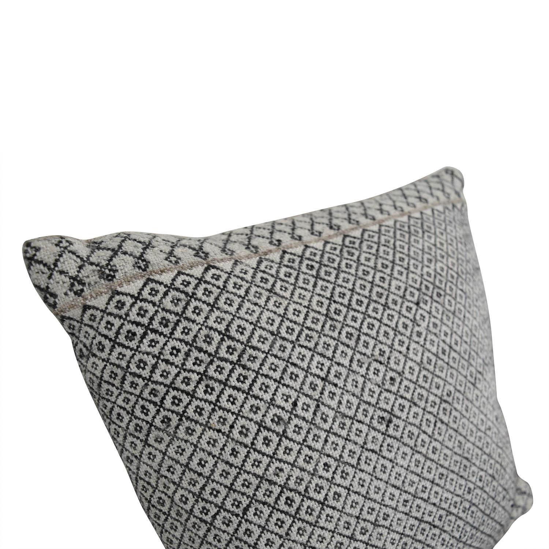 Etsy Etsy Vintage Beige Patterned Toss Pillow MULTI