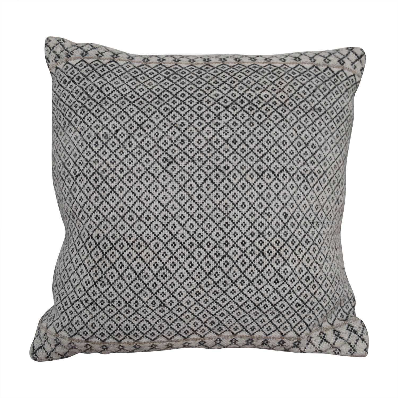 Etsy Etsy Vintage Beige Patterned Toss Pillow nj