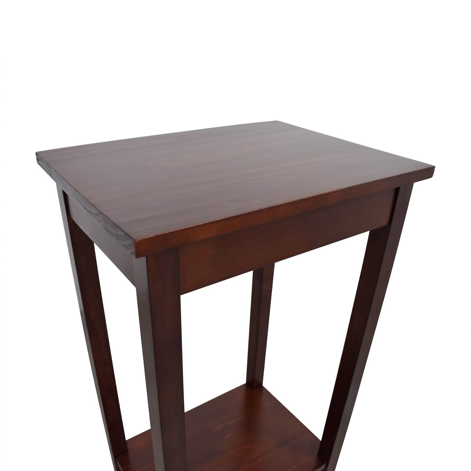 Picture of: 62 Off Tall Narrow Side Table Tables