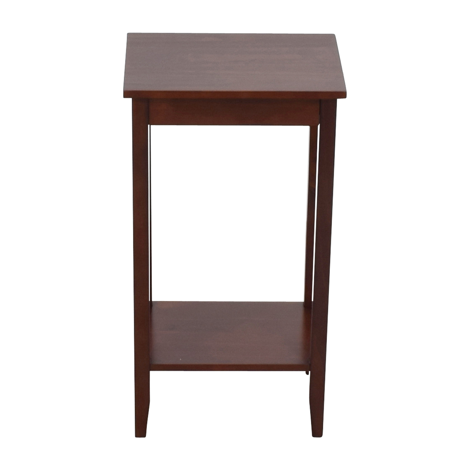 Tall Narrow Side Table second hand