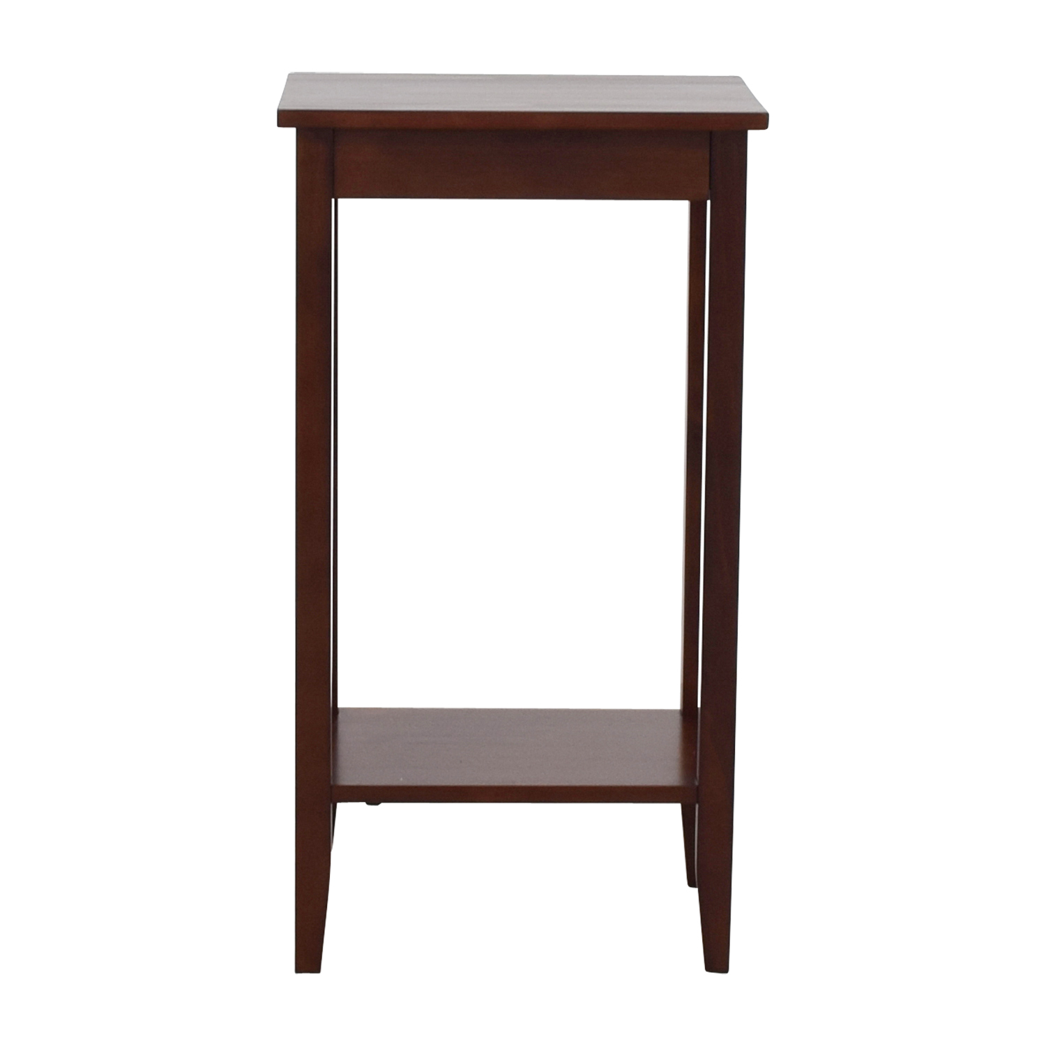 Tall narrow side table discount