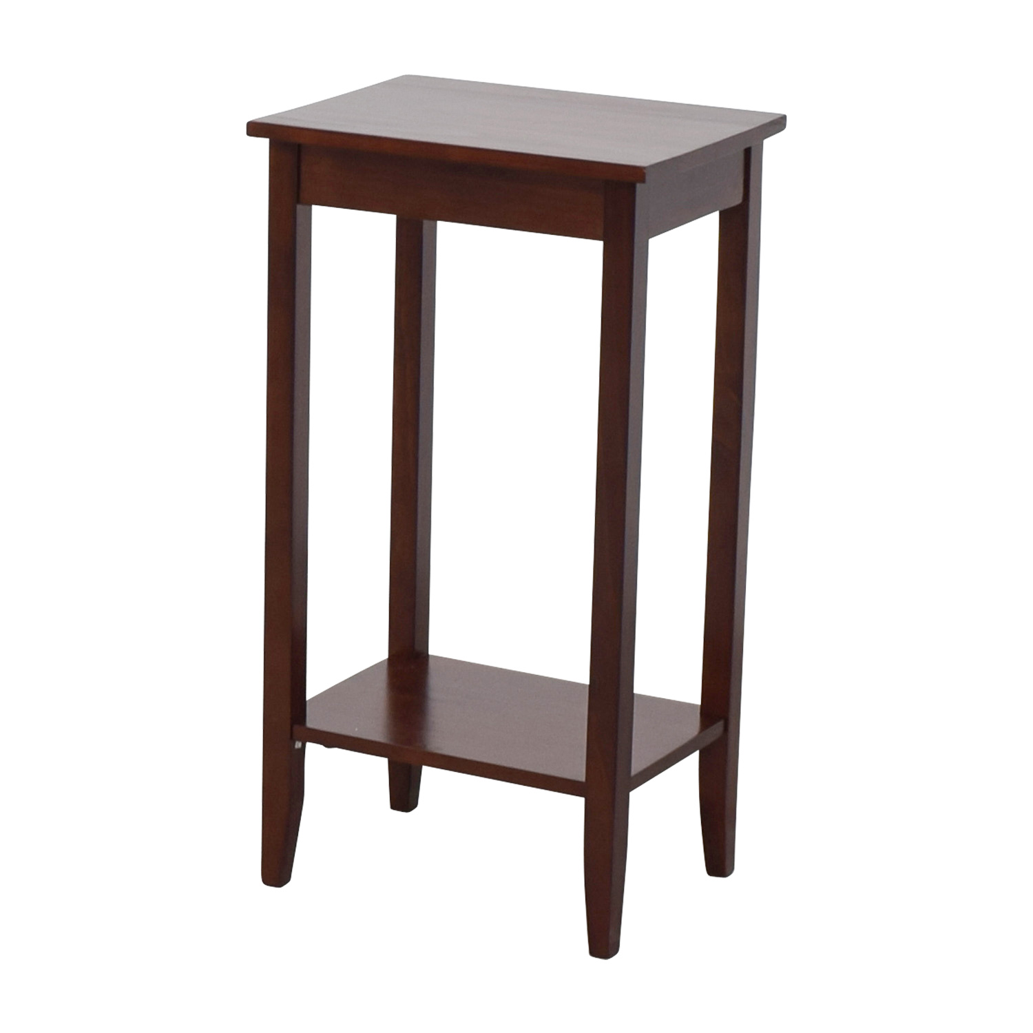 62 Off Tall Narrow Side Table Tables
