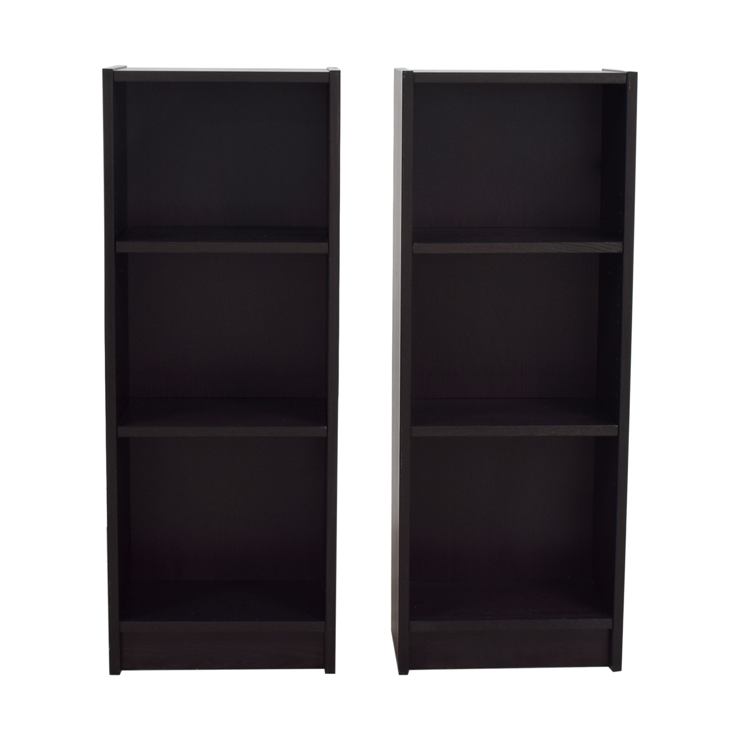 Perfect IKEA Billy Narrow Bookcases Sale