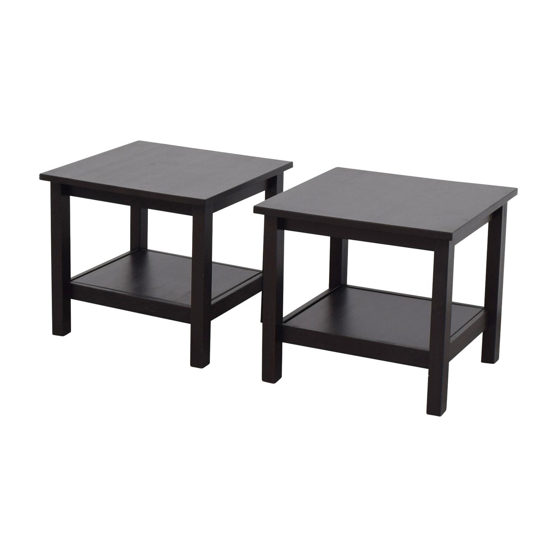 67 off ikea ikea hemnes side table tables. Black Bedroom Furniture Sets. Home Design Ideas