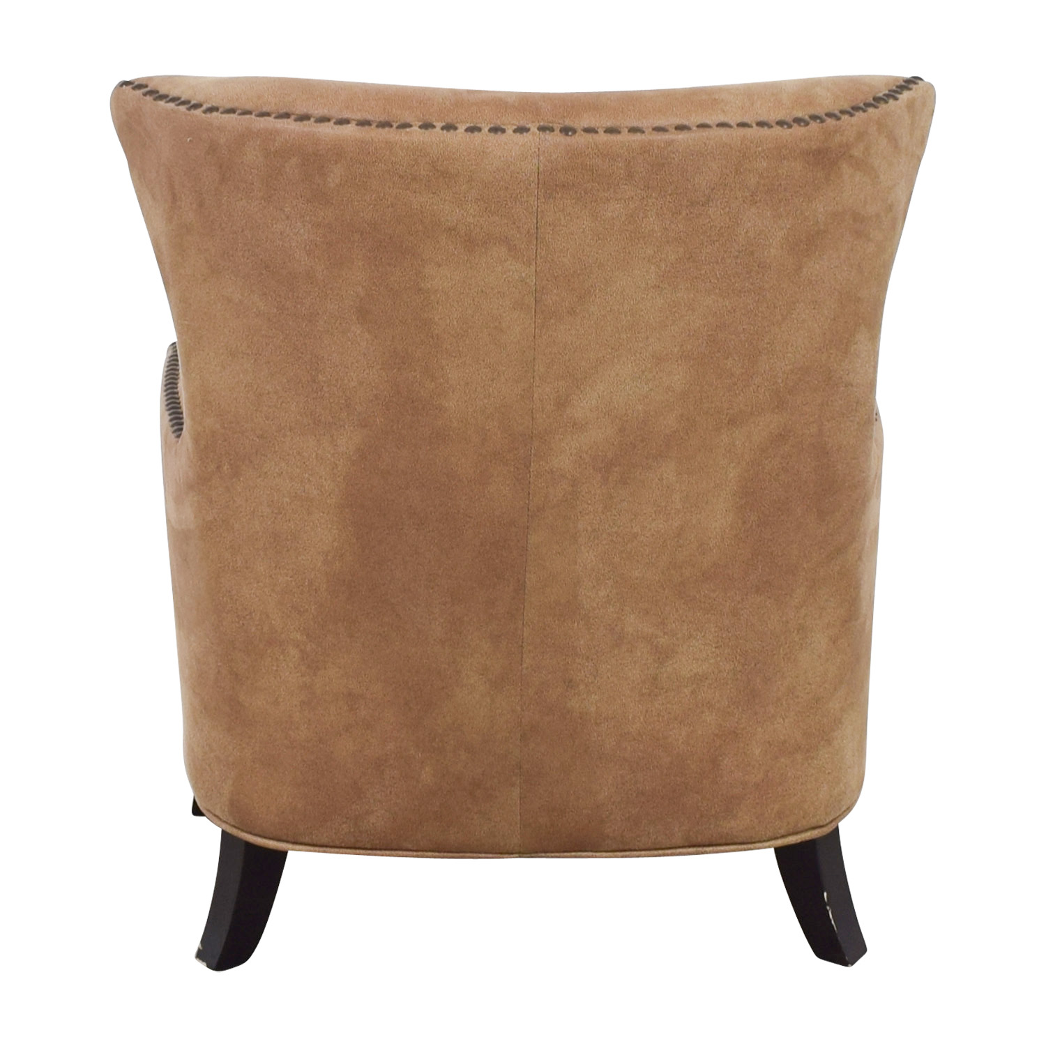 buy Joss & Main Nola Brown Nailhead Arm Chair Joss & Main