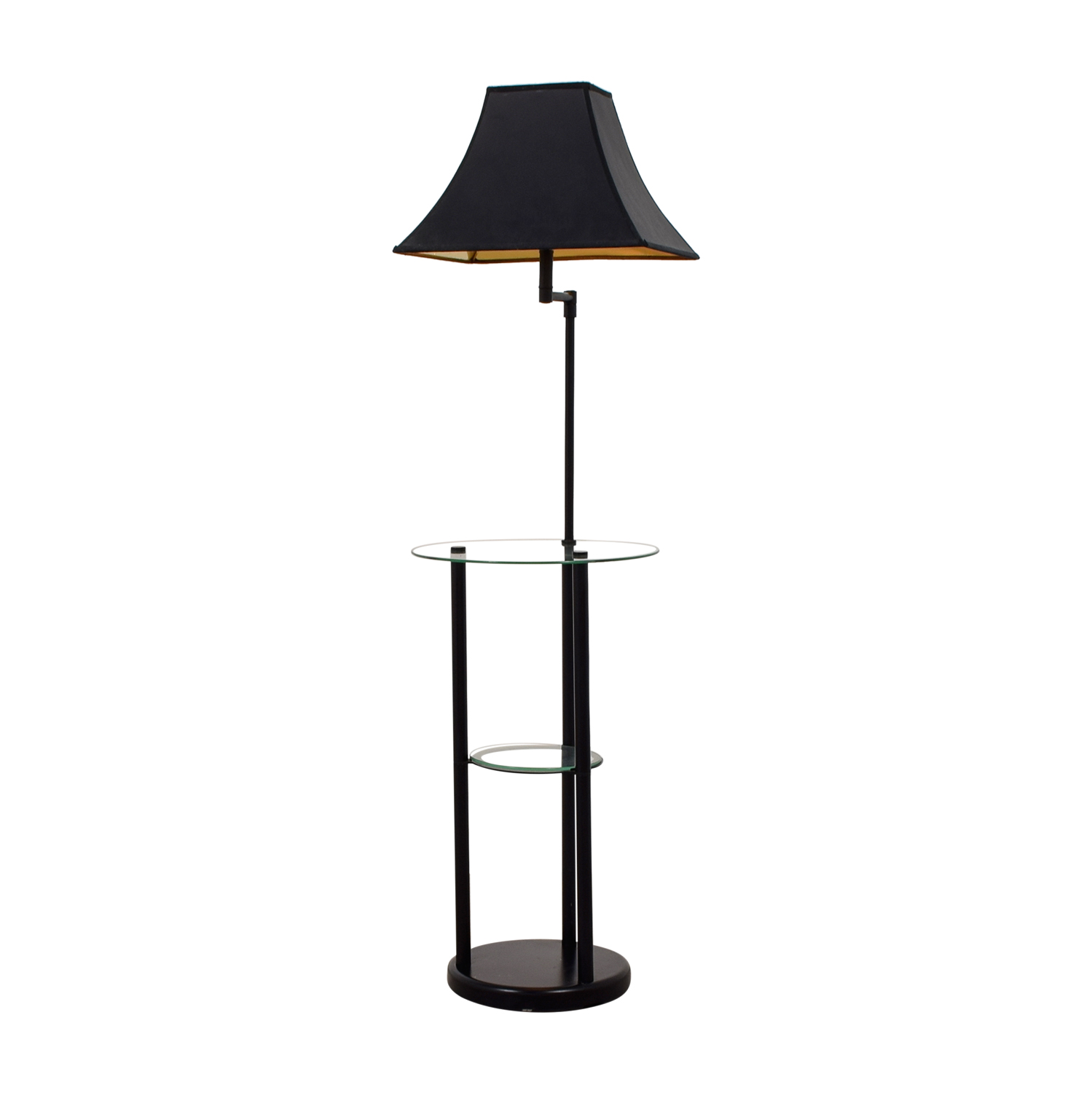 Glass Table Floor Lamp dimensions