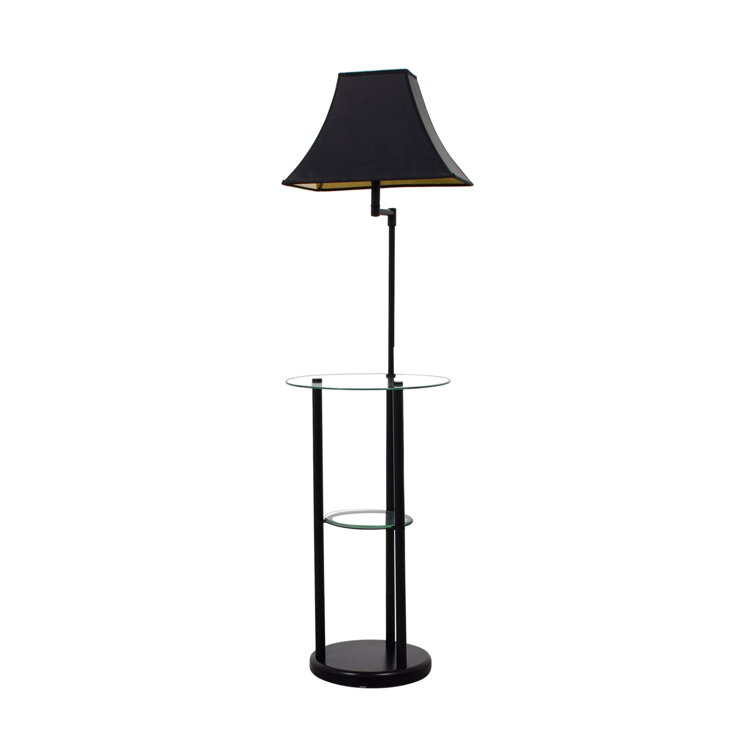 shop Glass Table Floor Lamp