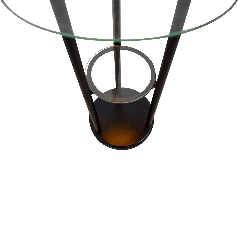 Glass Table Floor Lamp nyc