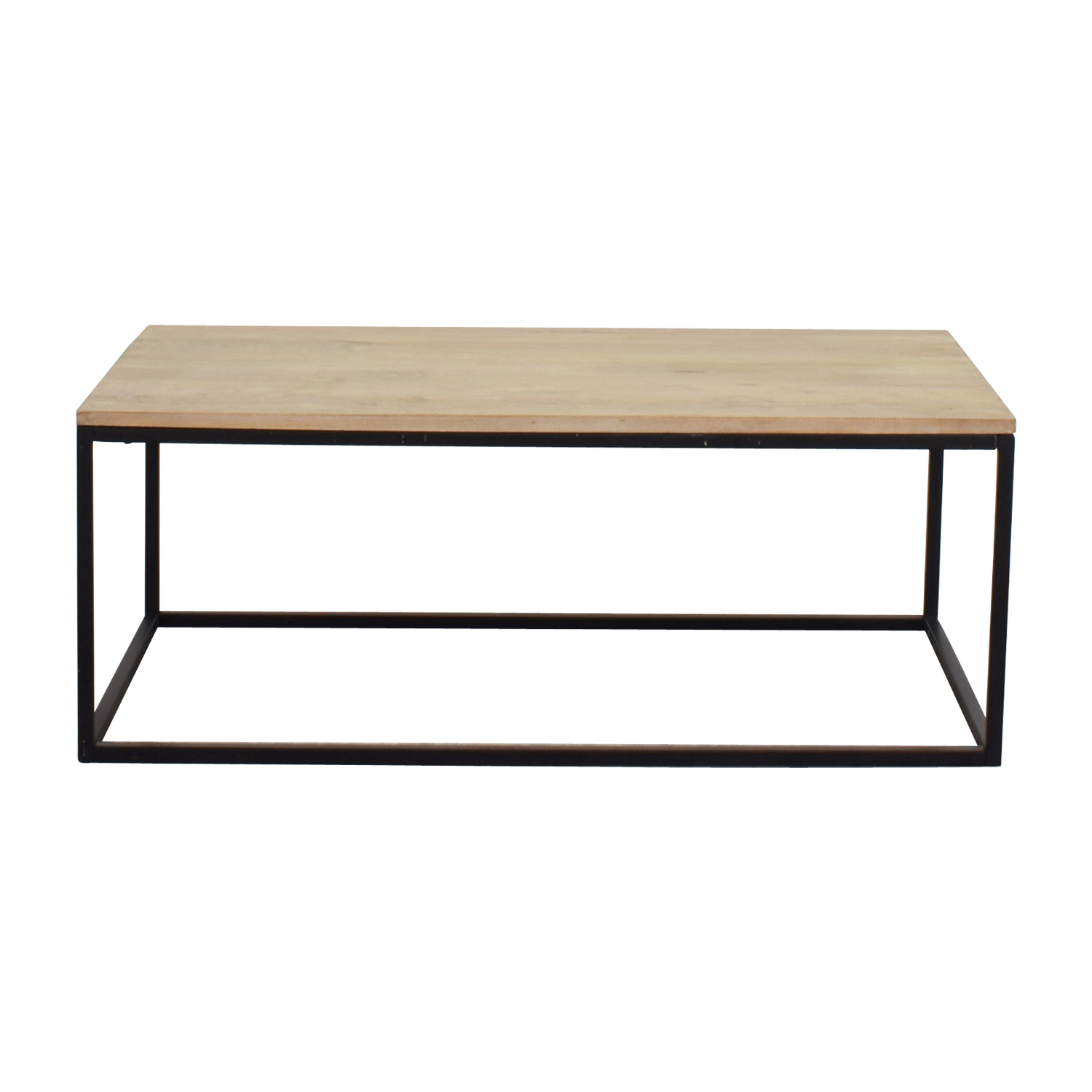 Crate & Barrel Natural Wood Coffee Table / Coffee Tables