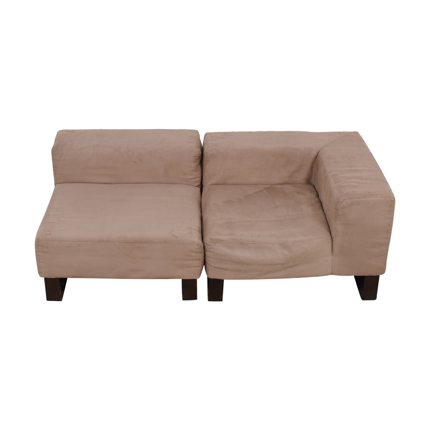 West Elm West Elm Khaki Lounge Sectional