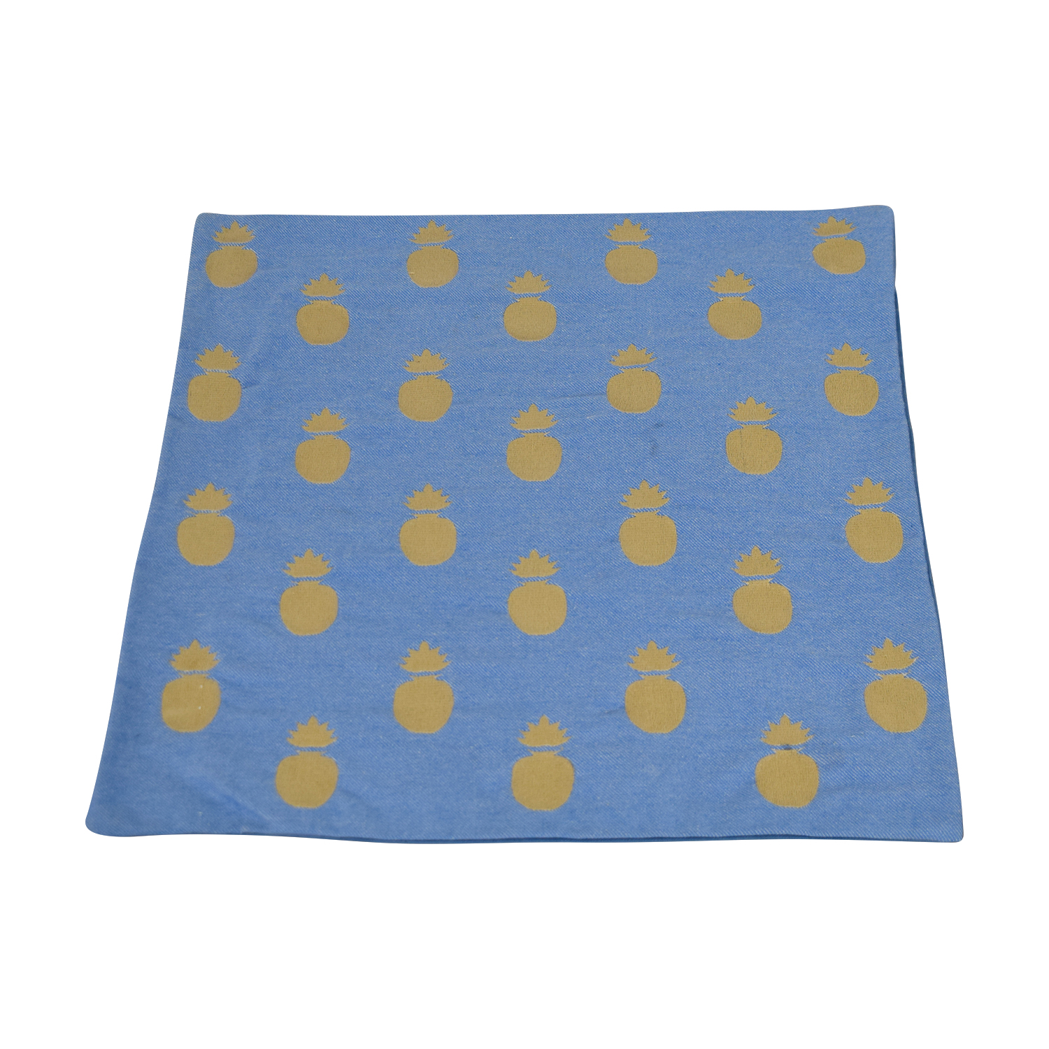 Obeetee Pineapple Blue Cushion Cover / Decorative Accents