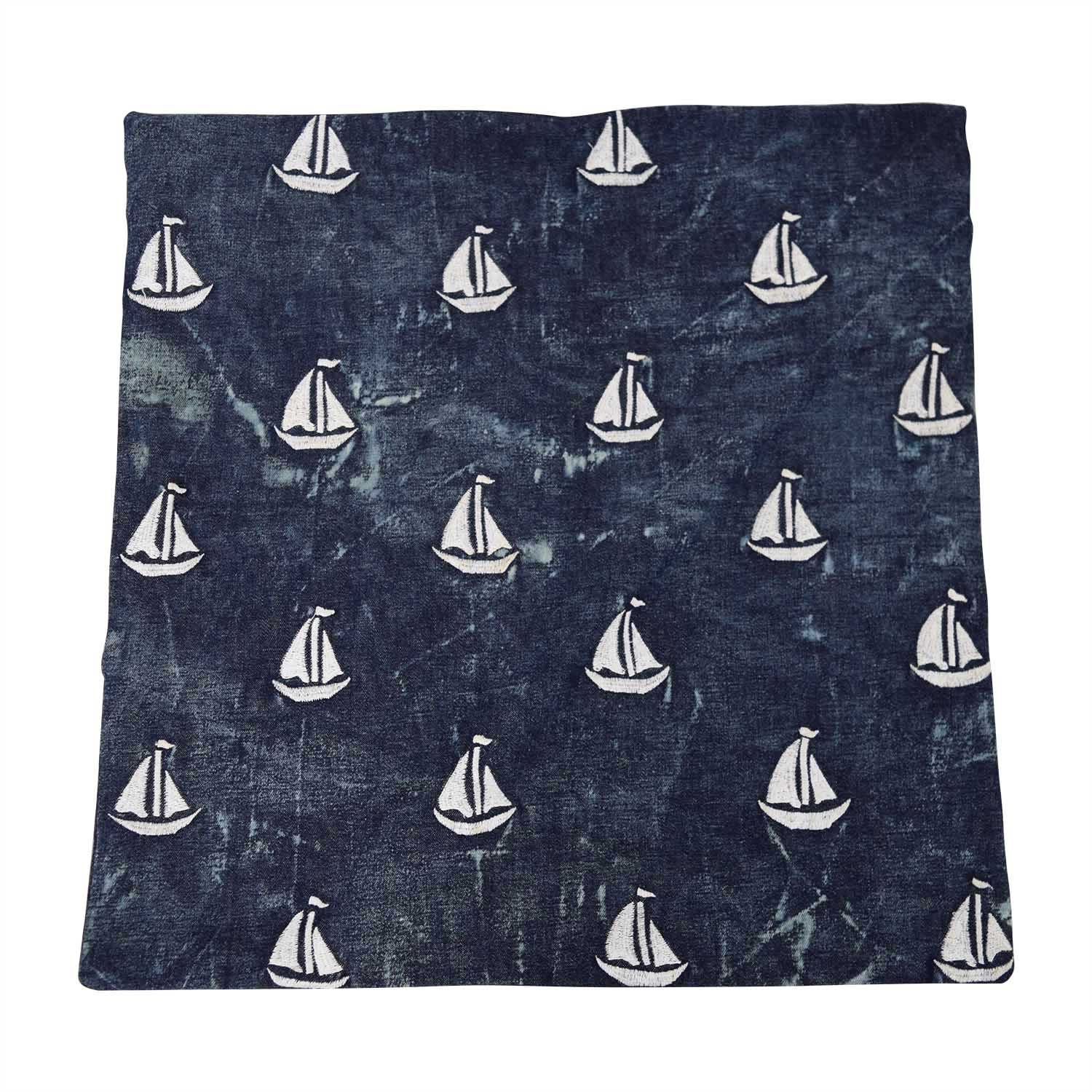 shop Obeetee Sailboat Cushion Cover Obeetee