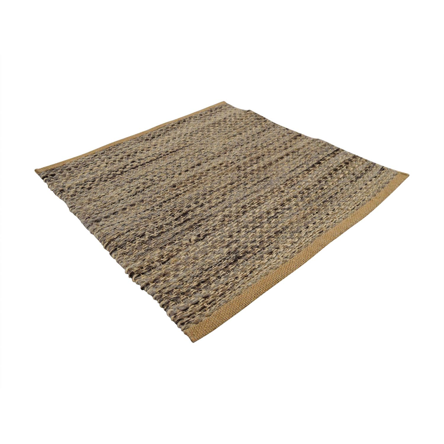 Obeetee Obeetee Brown and Beige Entry Rug coupon