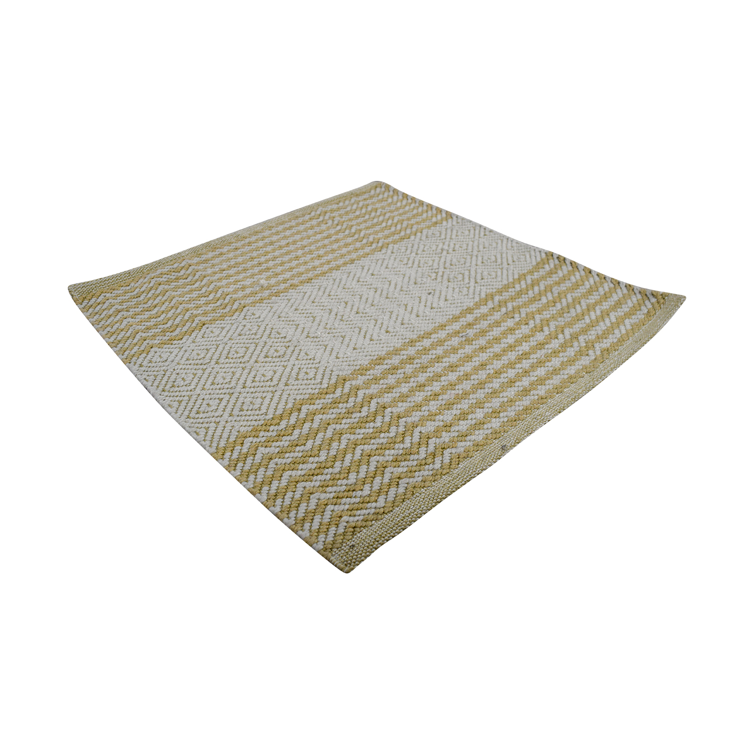 Obeetee Obeetee 2x2 Cream and Beige Rug Rugs
