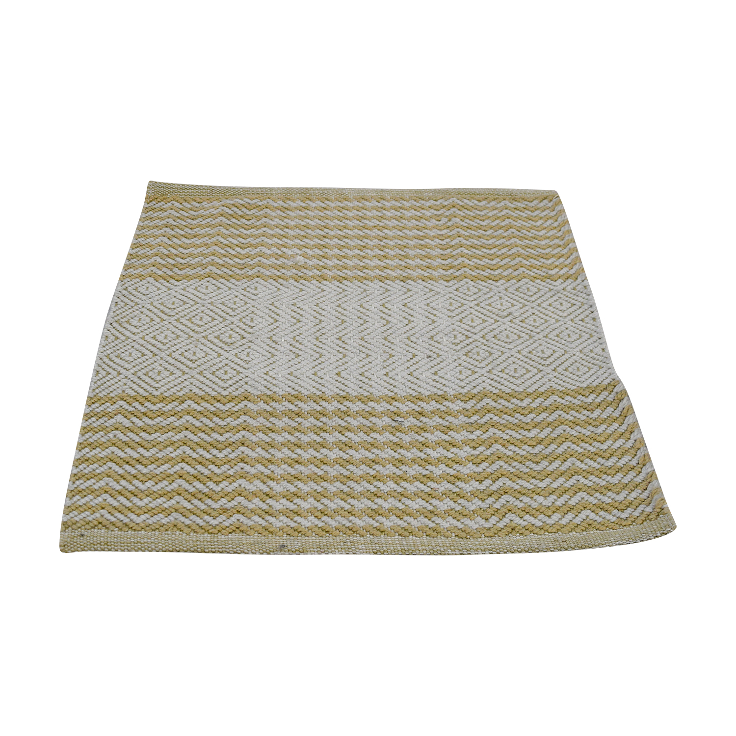 Obeetee 2x2 Cream and Beige Rug sale